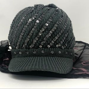 Justice sequence hat. Pre - owned